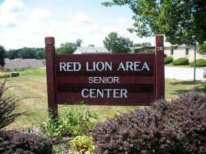 Red Lion Area Senior Center- Welcome Sign