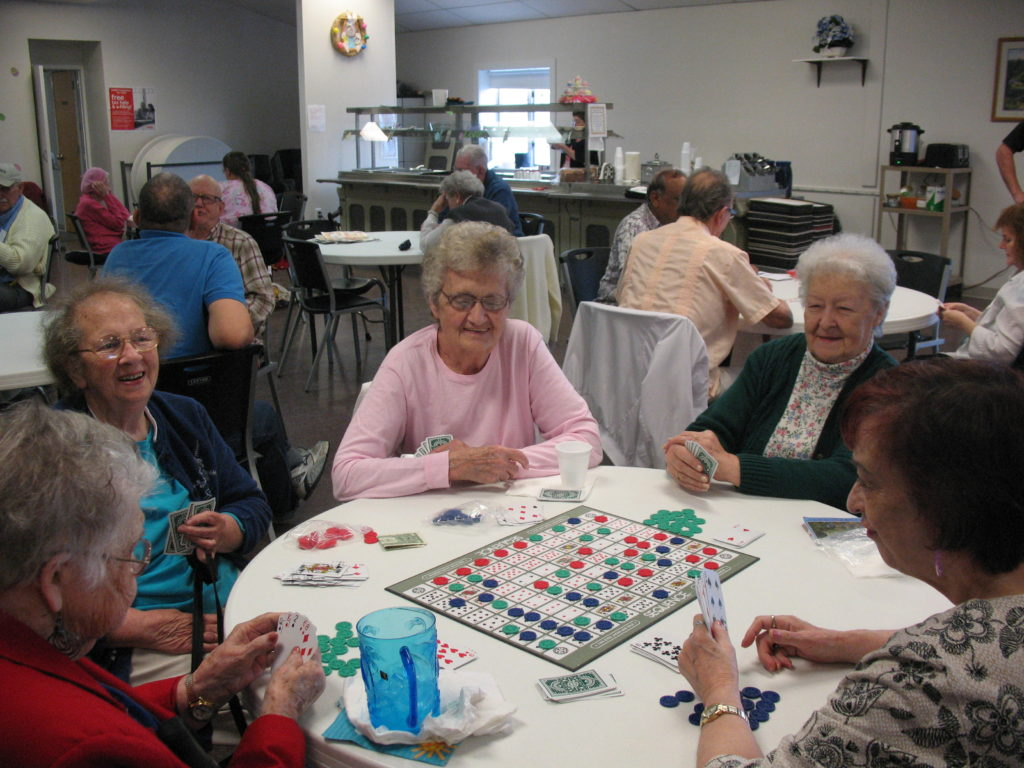 Members Playing Board Games