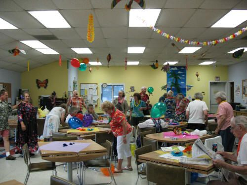 Senior Activities at Golden Connections