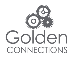 Golden Connections Gray Logo